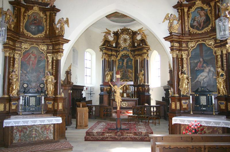 Die Kreuzbergkirche bei Hallerndorf