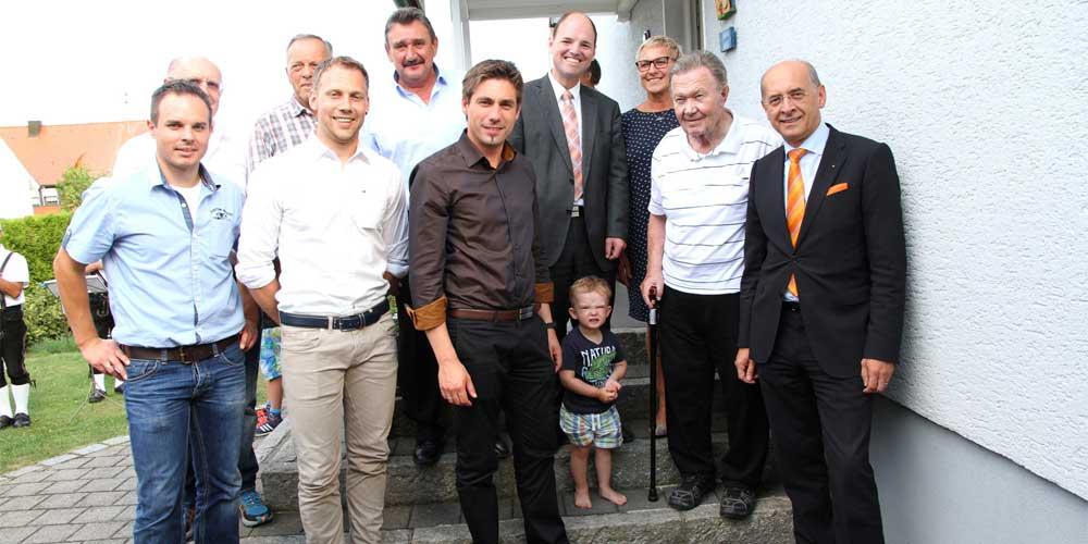 Alois Hagen feierte 80. Wiegenfest