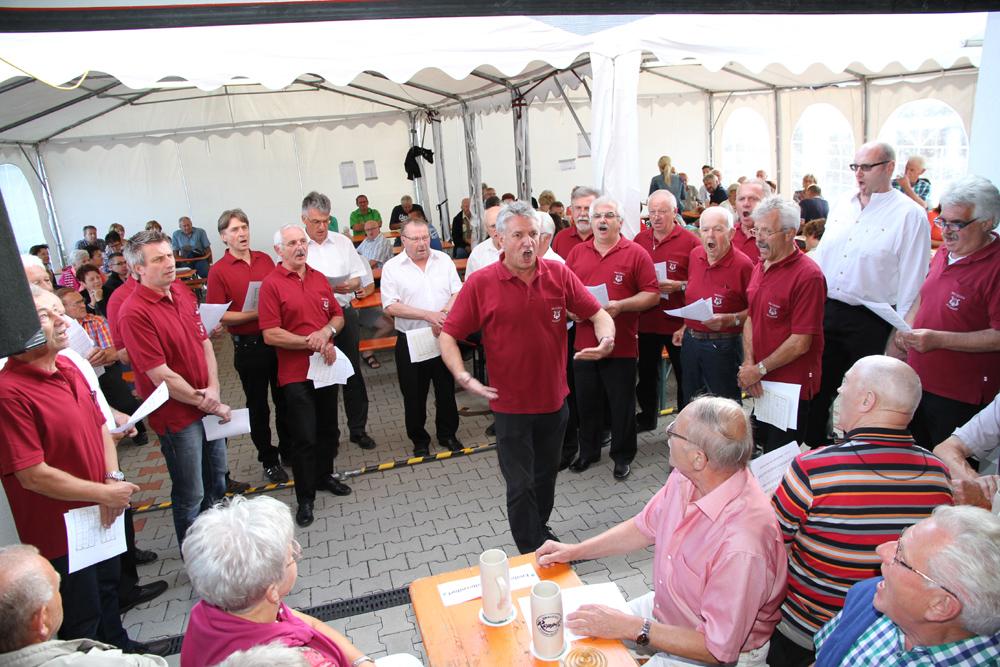 90 Jahre Männergesangverein Willersdorf