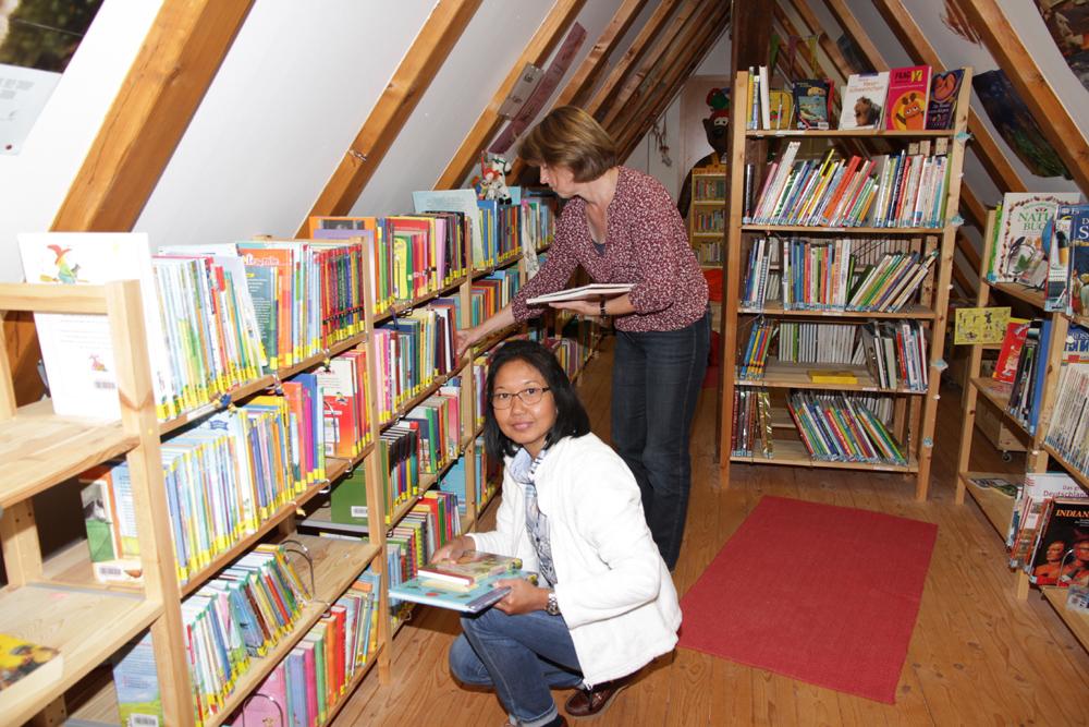 Gemeindebücherei im alten Forsthaus
