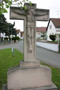 Steinkruzifix-Schlammersdorf