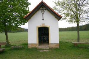 Waldkapelle St. Maria zwischen Schlammersdorf und Pautzfeld