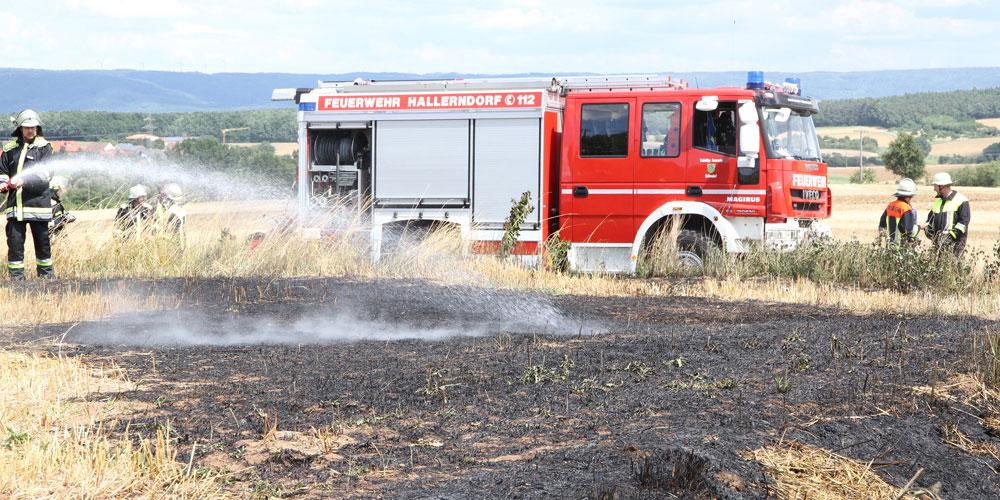 Feuerwehren waren schnell zur Stelle