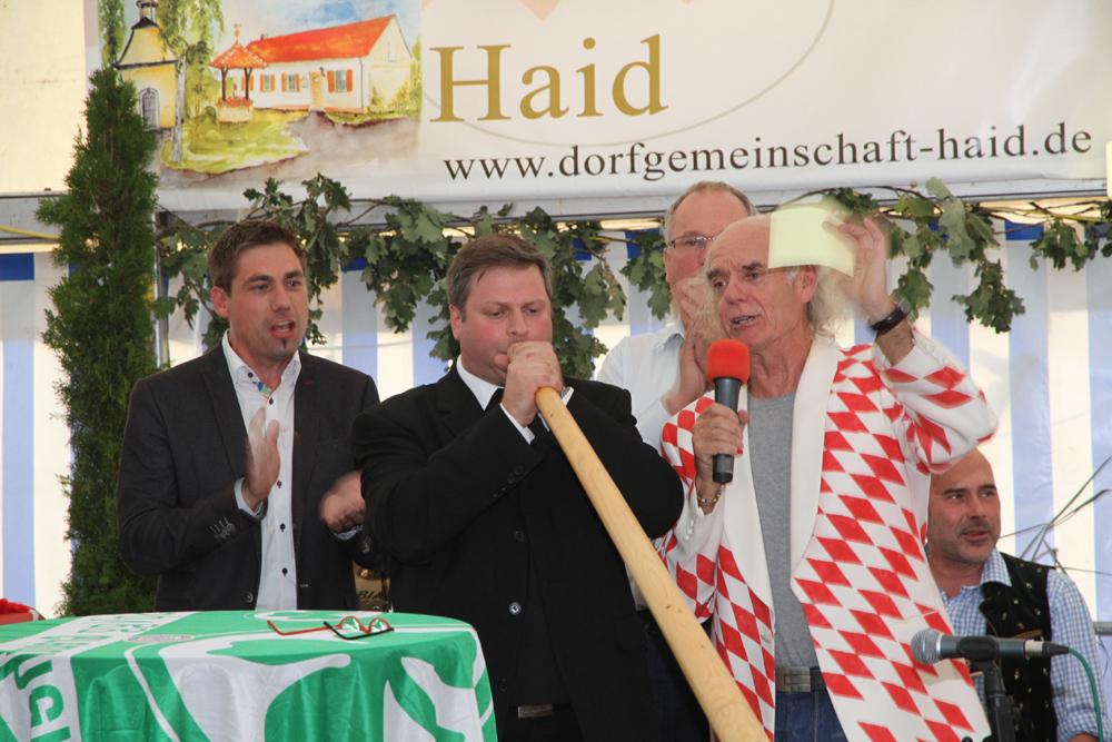 Jubiläumsfeier mit Alphornblaswettbewerb