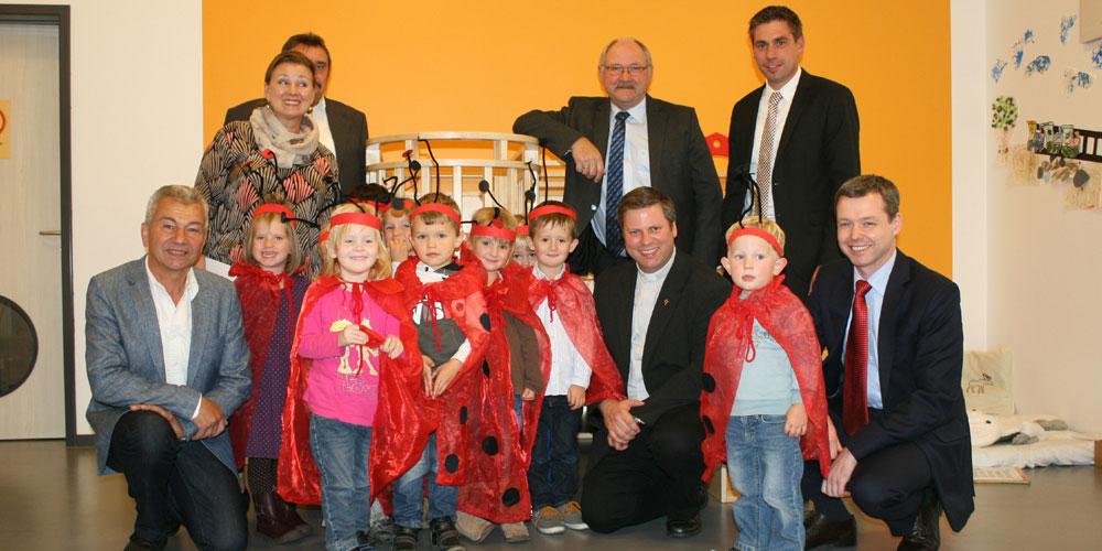 Einweihung des Willersdorfer Kindergartens