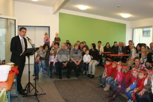 Bürgermeister Torsten Gunselmann lobte die Entscheidung seines Vorgängers Heribert Weber