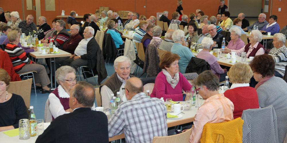 Rund 150 Gäste am Seniorennachmittag