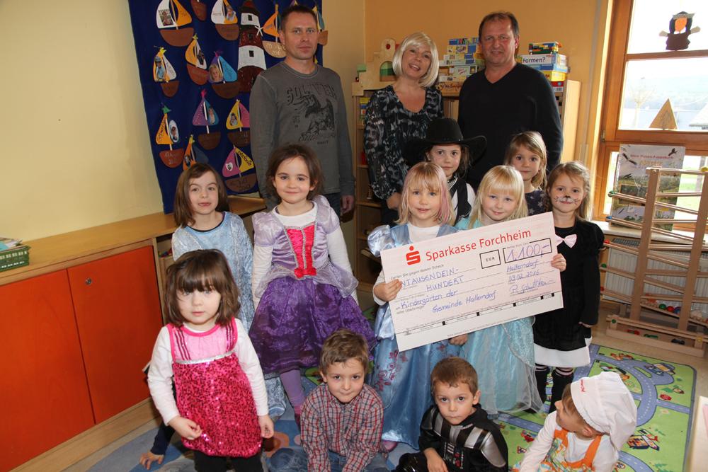 Spende an Kindergärten