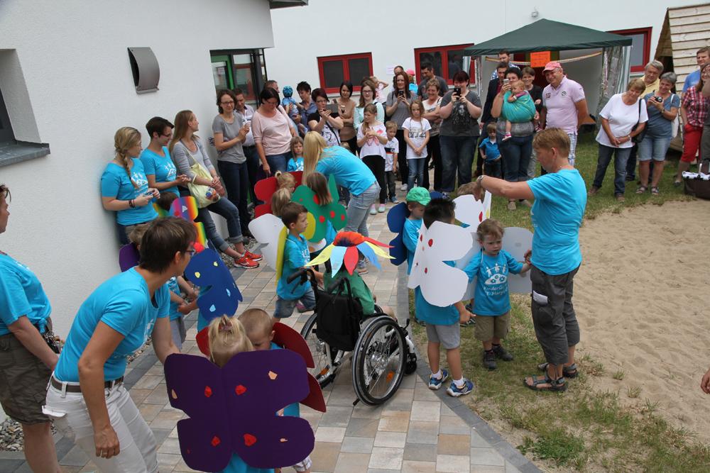 Erstes Kindergartenfest im neuen Domizil