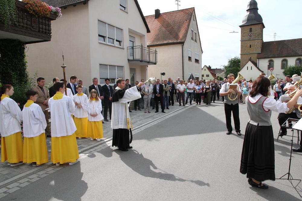 Pautzfelder Ortsdurchfahrt eingeweiht