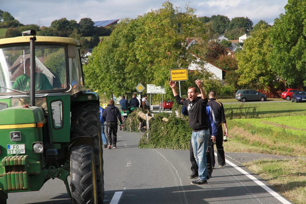 Kirchweih in Hallerndorf