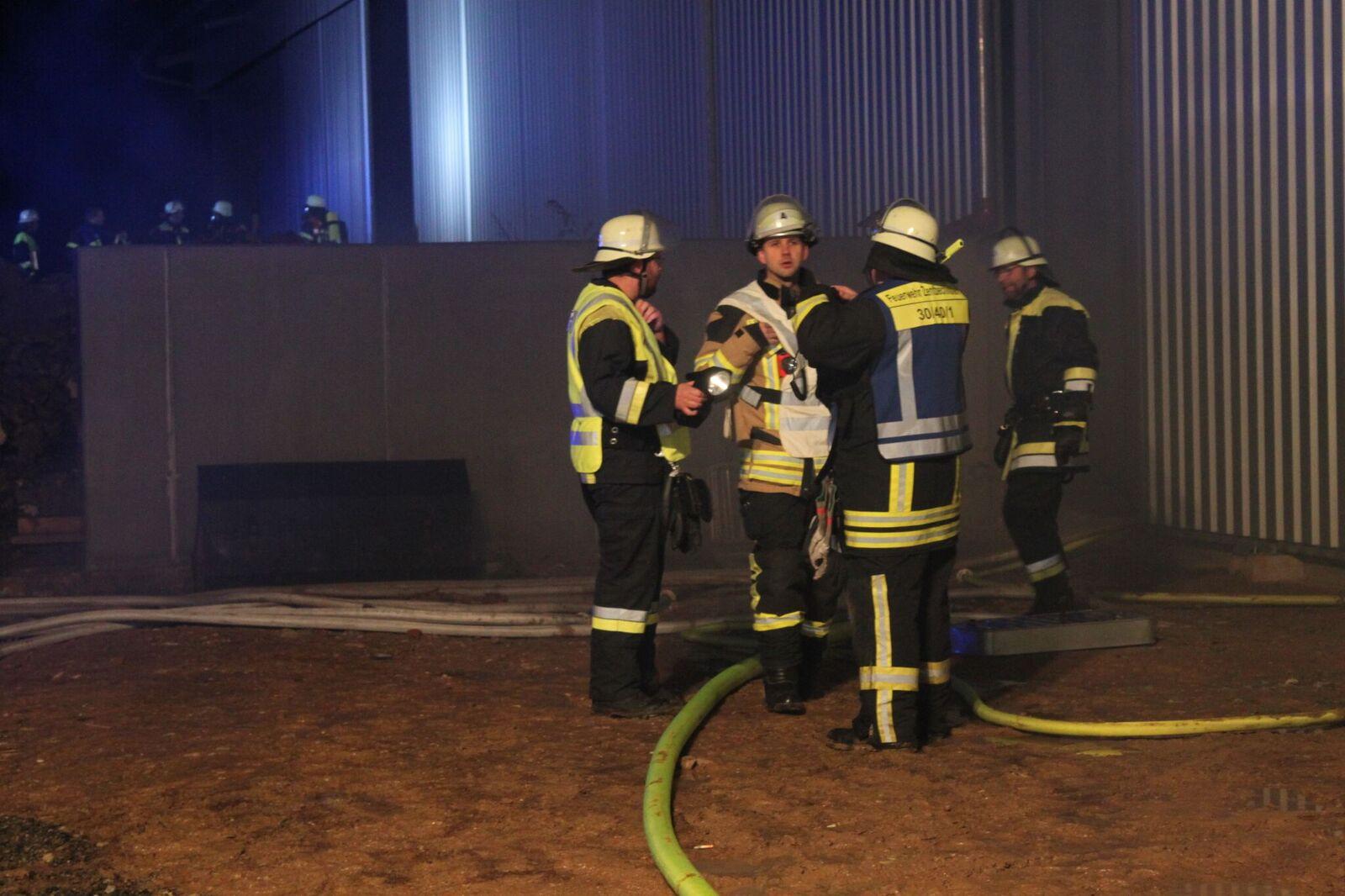 Große Feuerwehrübung in Schnaid
