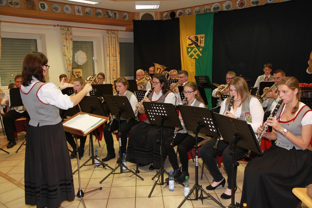 Musikverein Pautzfeld gab ein tolles Herbstkonzert