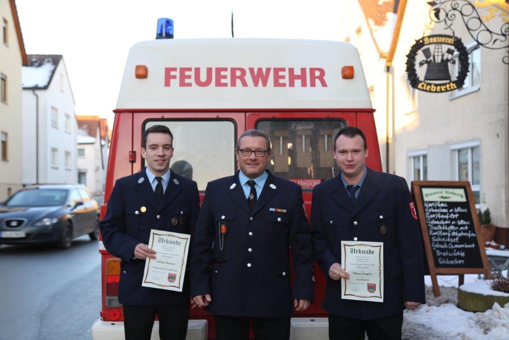 Jahreshauptversammlung der FFW Hallerndorf