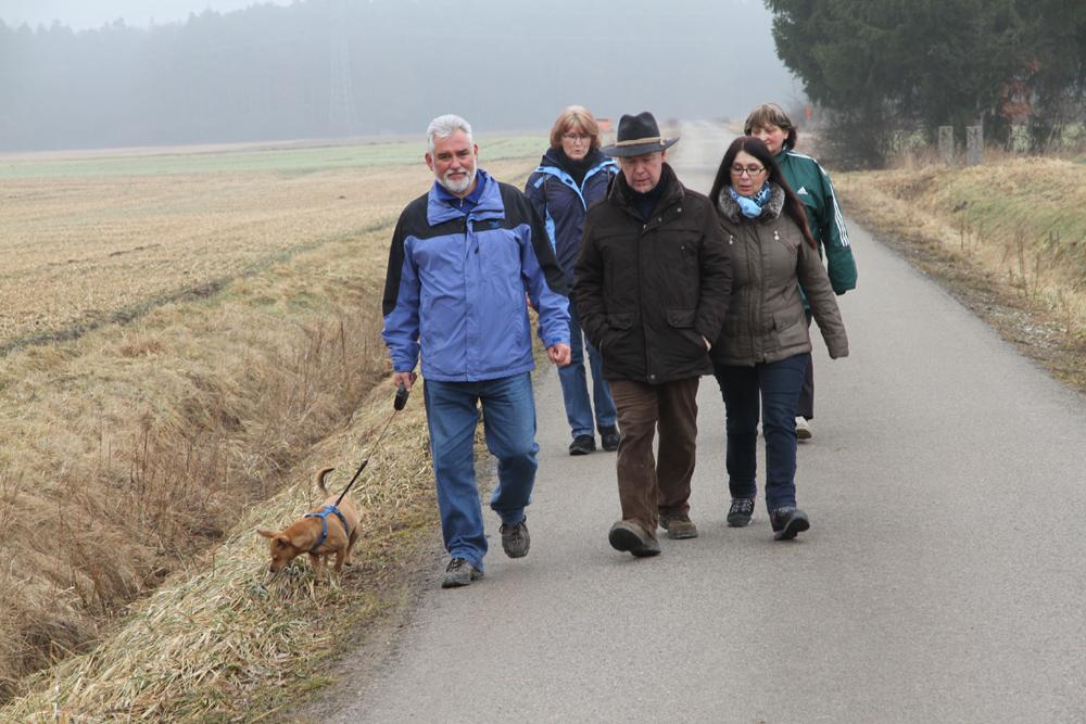 1.400 Wanderer am Wochenende in der Gemeinde