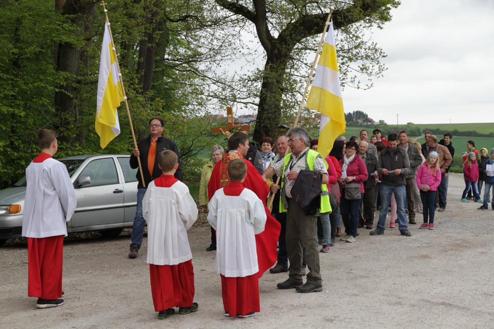 Kreuzbergfest und Eröffnung der Wallfahrtssaison