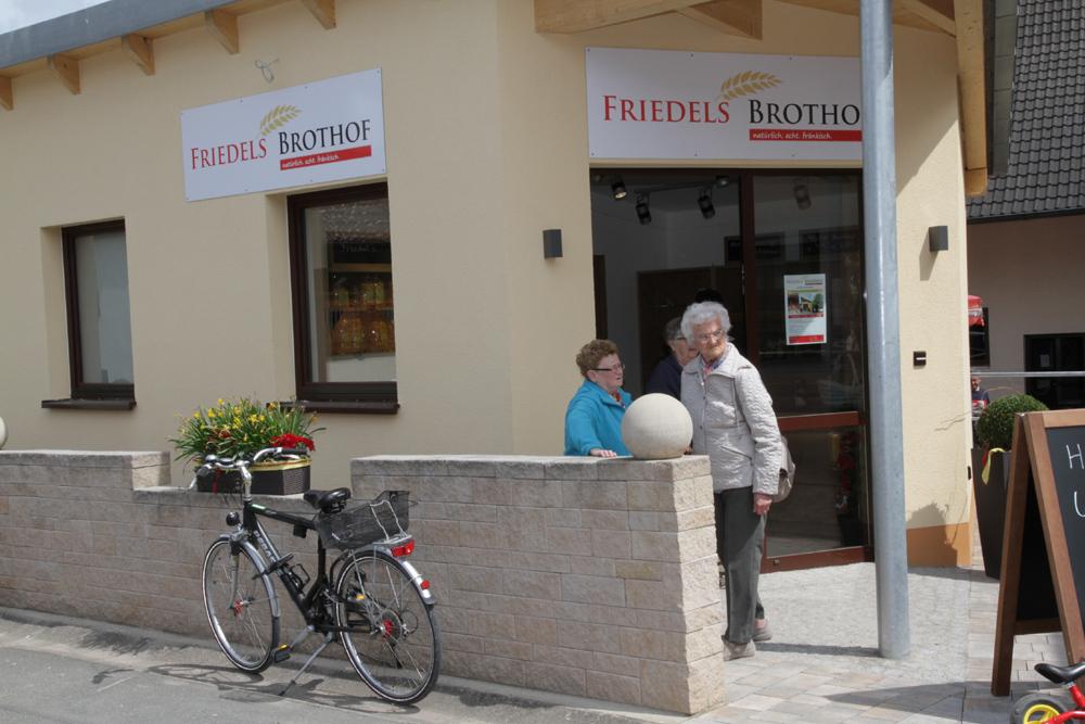 Kleinste Ortschaft hat jetzt Einkaufsmöglichkeit