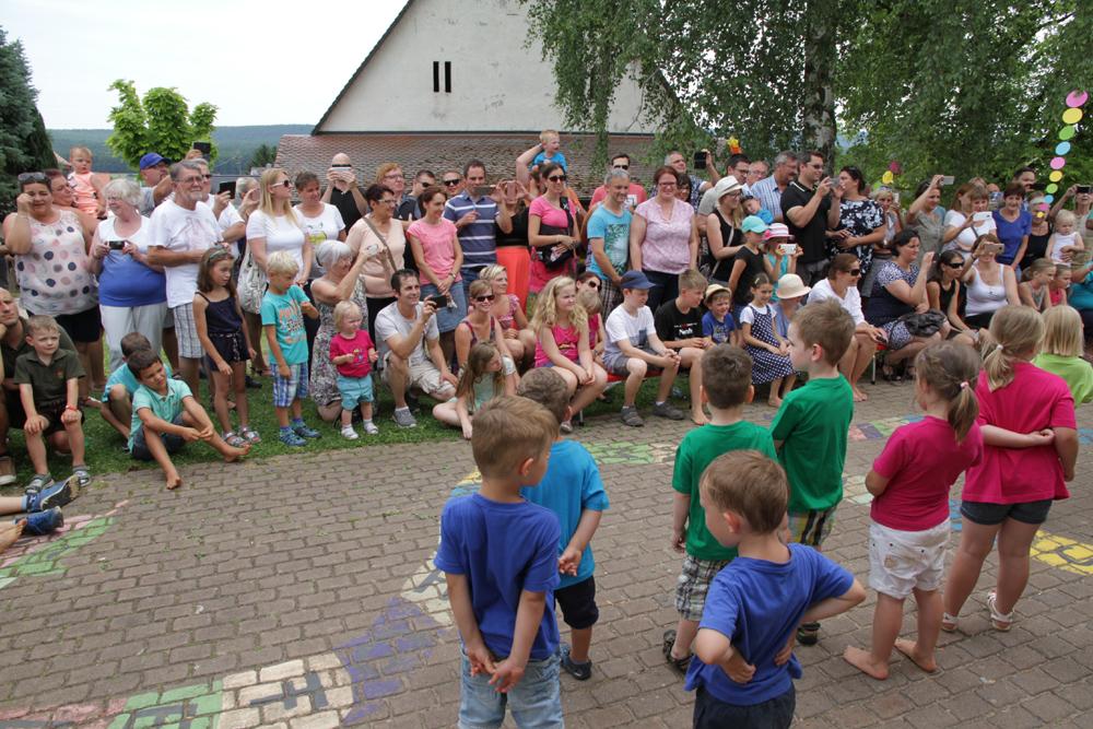 Jubiläum des Hallerndorfer Kindergartens