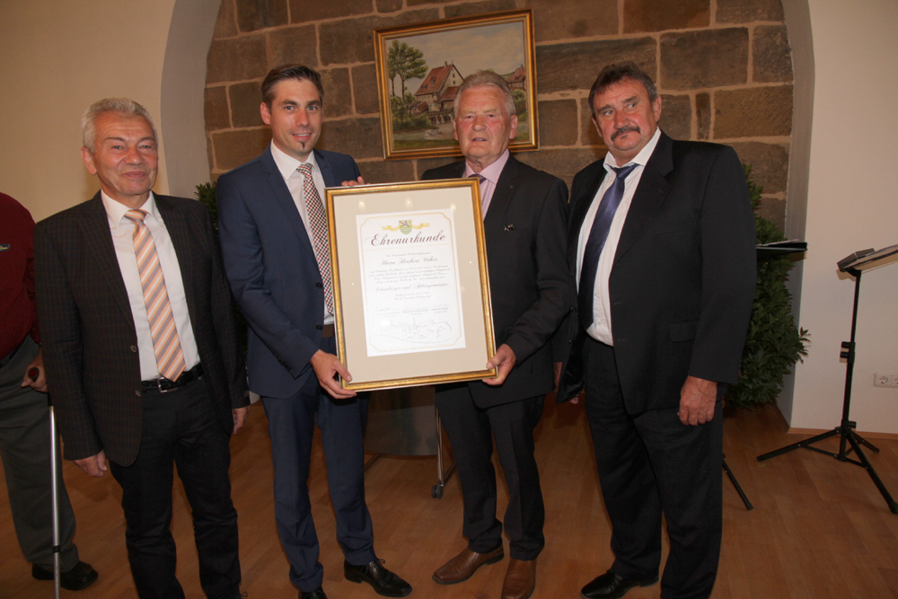 Ernennung Ehrenbürger und Altbürgermeister