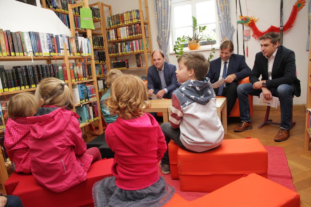 Jubiläum Bücherei