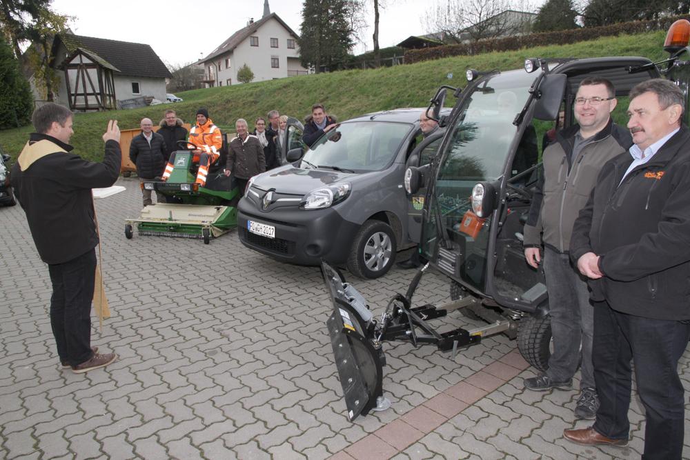 Fahrzeugsegung