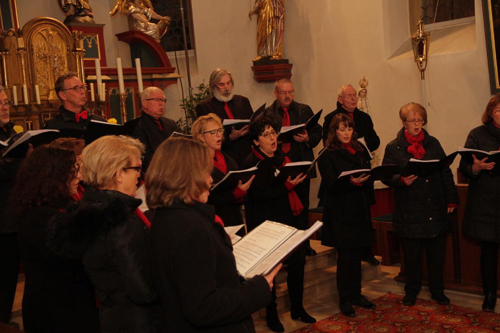 Gospelklänge in Hallerndorfer Pfarrkirche