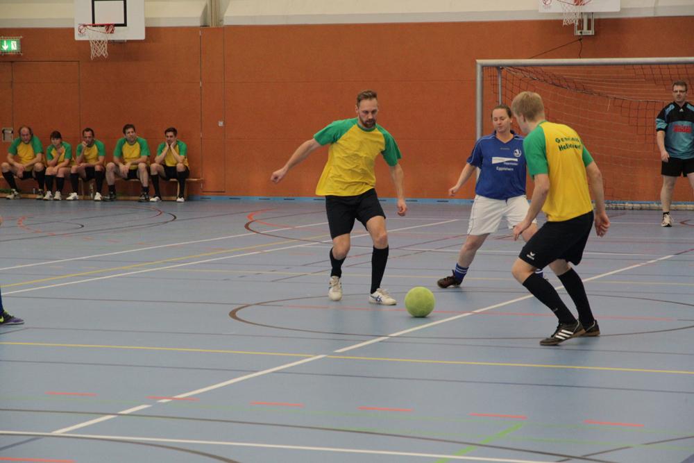 Fußball-Benefizturnier in Schulsporthalle