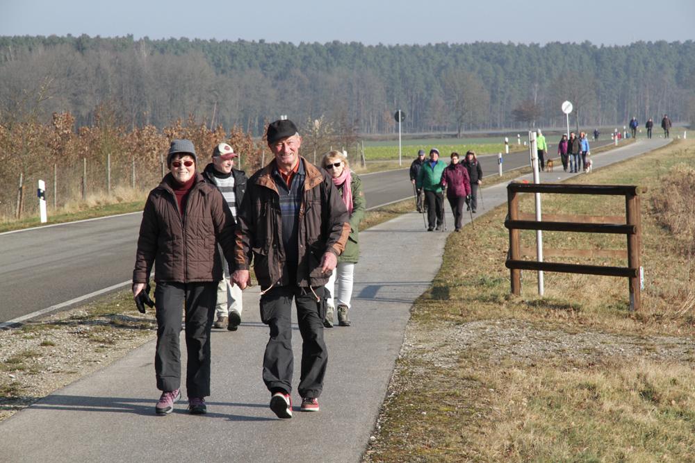 1.500 Wanderer in der Gemeinde