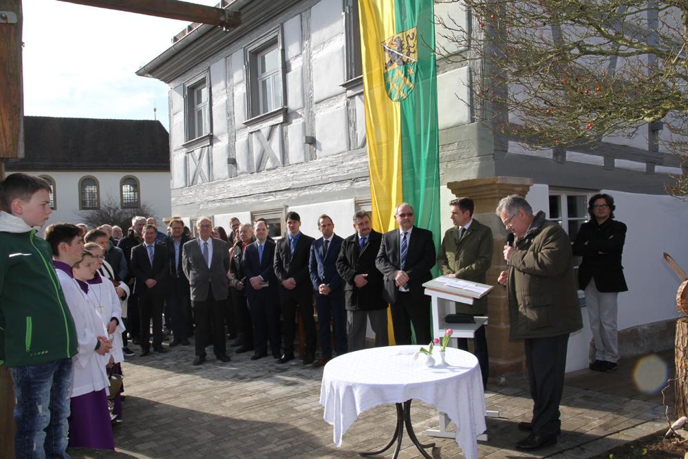 Einweihung Gemeindehaus Pautzfeld