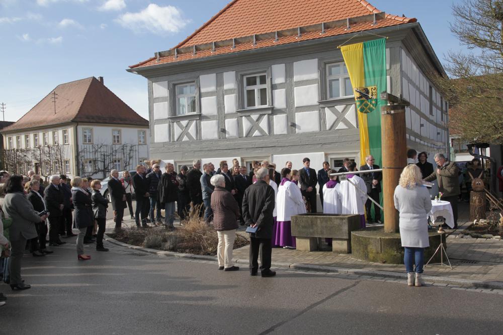 Sanierung des denkmalgeschützten Gemeindehauses in Pautzfeld