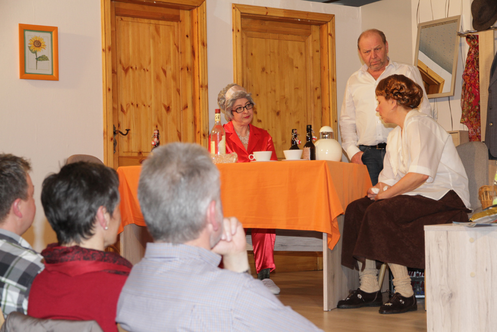 Theatergruppe faszinierte mit Jubiläumsaufführung