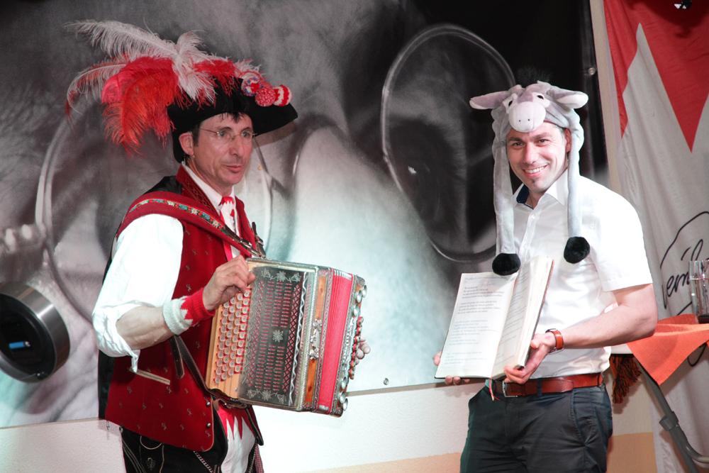 Dorfgemeinschaft Haid organisierte Comedy-Abend
