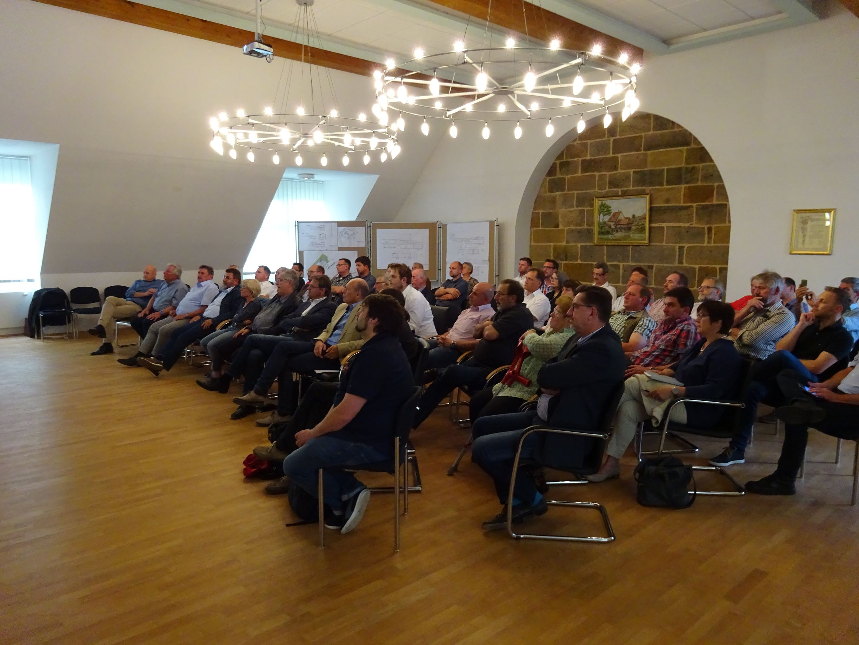 Gemeinsame Gemeinderatssitzung der Allianz Regnitz-Aisch
