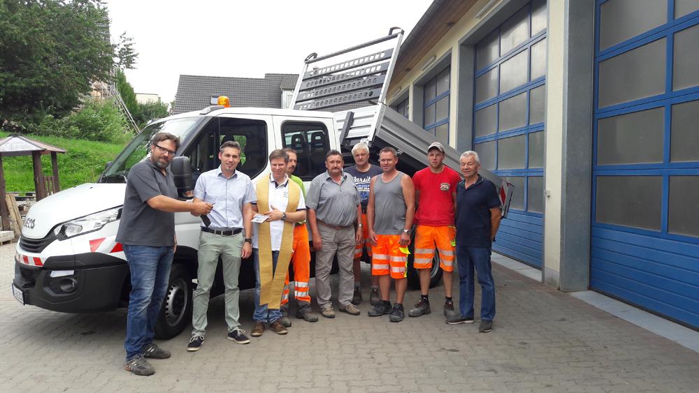 Segnung Bauhof-LKW