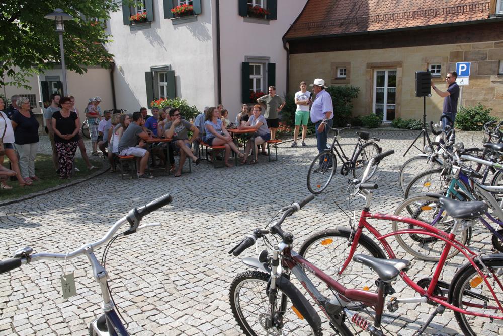 Fahrradversteigerung Gemeinde Hallerndorf (2)