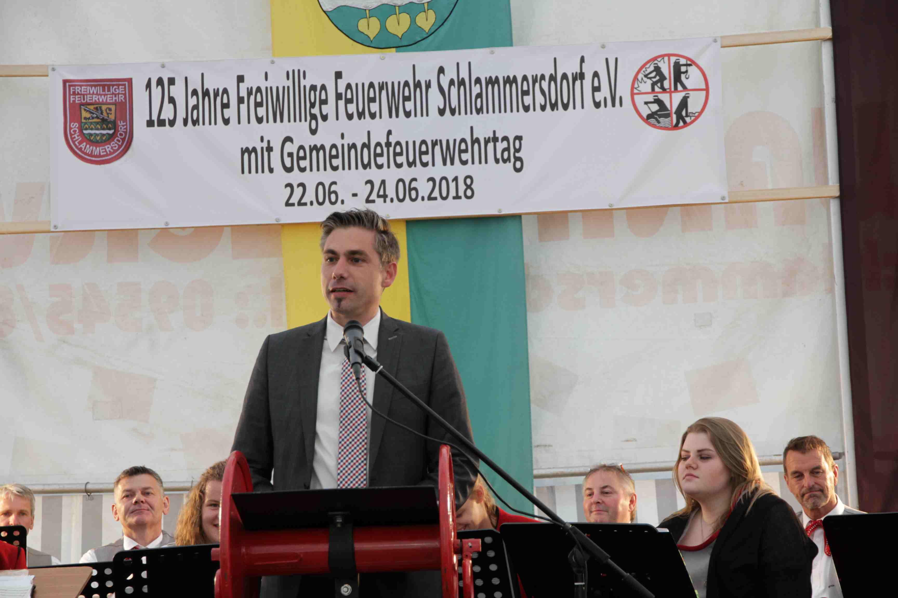 125 Jahre FFW Schlammersdorf