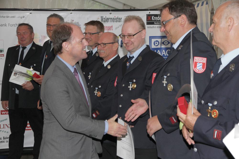 Auszeichnungen und Kindertag beim Gemeindefeuerwehrtag