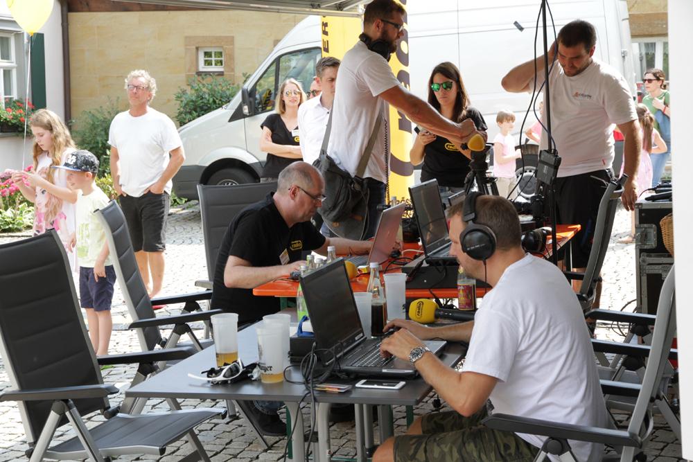 Radio Bamberg live am Rathausplatz