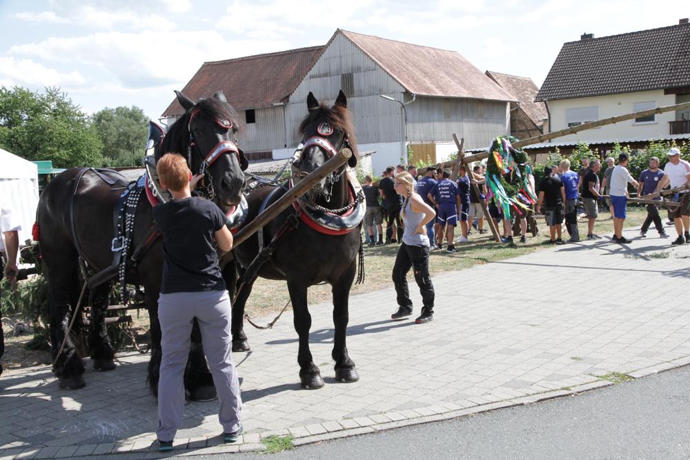 Kerwa in Trailsdorf