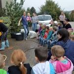 Erl Kindergarten Trailsdorf bei Biolandwirt (2)