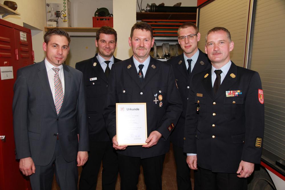 FFW Pautzfeld - Feuerwehrehrenzeichen