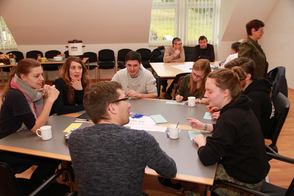 Jugendarbeit in der Gemeinde - ein Anfang ist gemacht