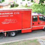 Gemeindefeuerwehrtag mit Fahrzeugweihe und Ehrungen