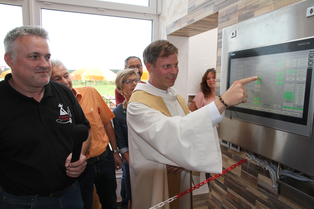 Kreuzberg Quelle Ackermann investiert in neueste Technik