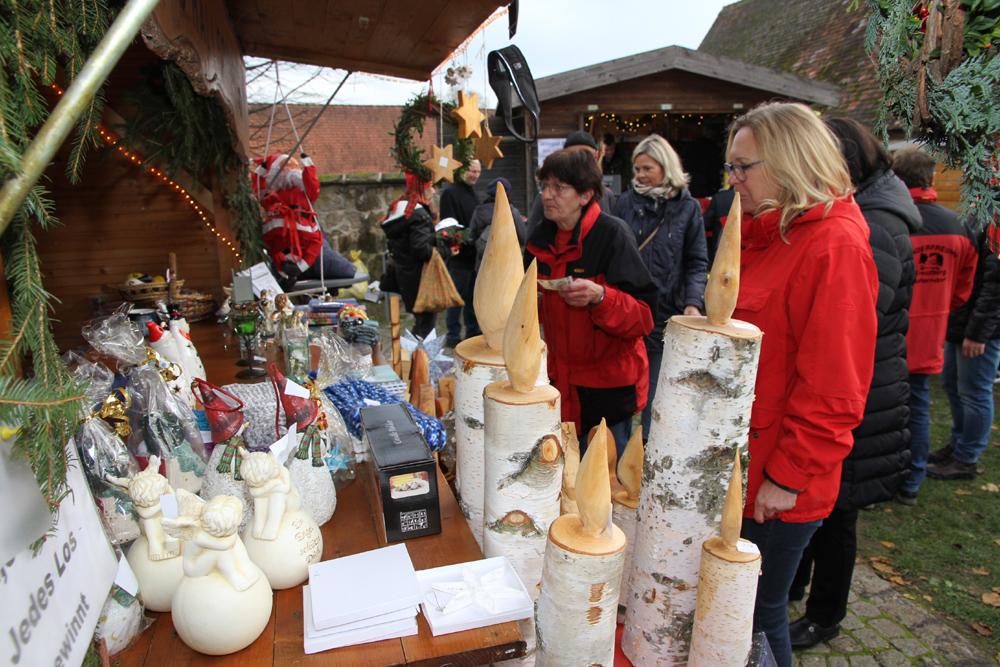 Vorweihnachtsmarkt war Besuchermagnet