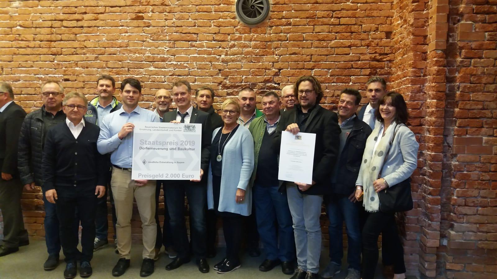 Staatspreis für die Sanierung des Pautzfelder Gemeindehauses erhalten