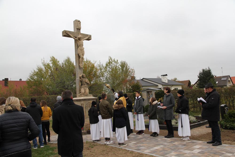 Weihe Neugestaltung Friedhof Willersdorf