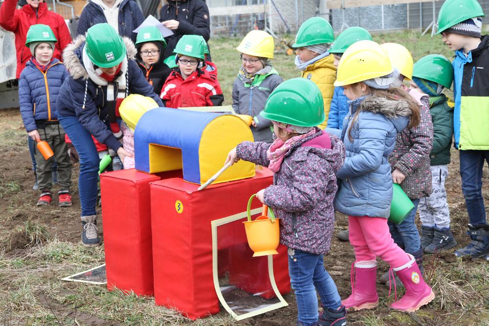 Spatenstich für die größte Kinderbetreuungseinrichtung der Gemeinde