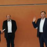 Vereidigung 2. Bürgermeister Robert Linz