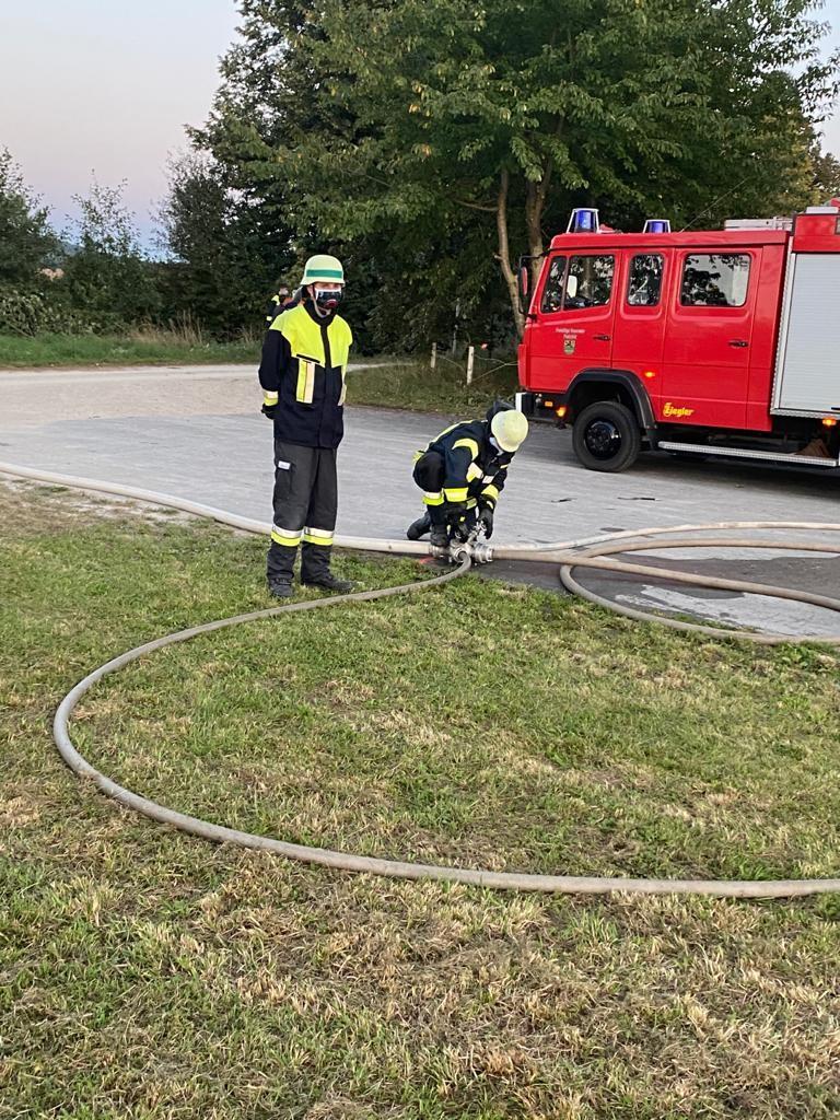 Feuerwehr Pautzfeld stellt sich Leistungsprüfung